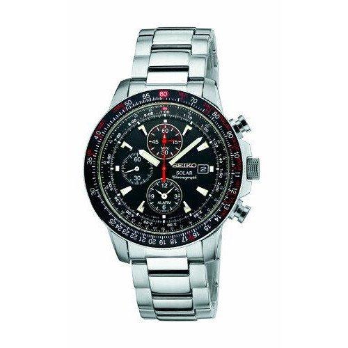 SEIKOセイコー メンズ(男性用) SSC007 アラーム クロノグラフ 腕時計