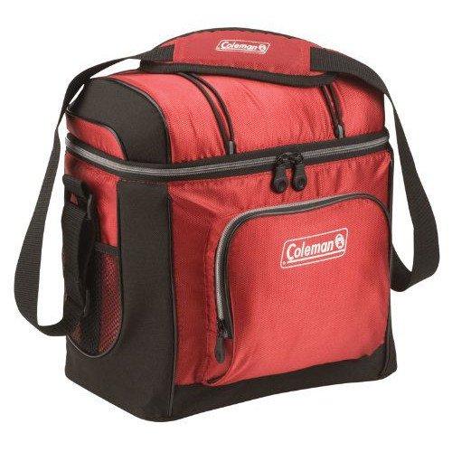 コールマン 16缶 ソフトークーラーバッグ 赤