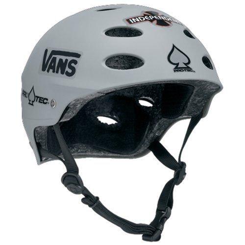 プロテック ヘルメット ACE SKATE Lasek マットグレー S