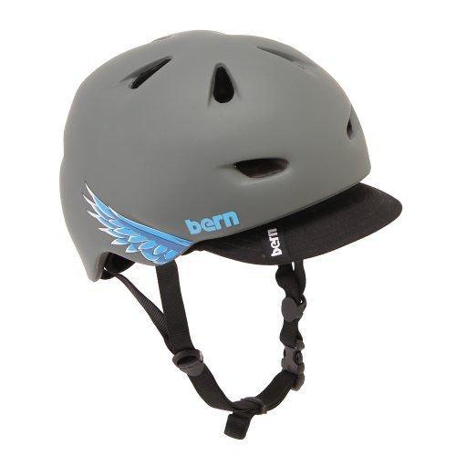 Bern バーン Brentwood ブレントウッド ヘルメット サイクリング 自転車 Matte Grey Cyclehawk VM3MGSV L