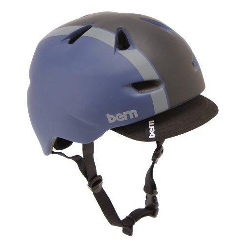 Bern バーン Brentwood ブレントウッド ヘルメット サイクリング 自転車 Matte Midnight Blue Bomber VM3