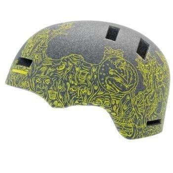 GIRO(ジロ) SECTION Helmet セクション サイクリング ヘルメット MAT TANS GRN CREATURE サイズL