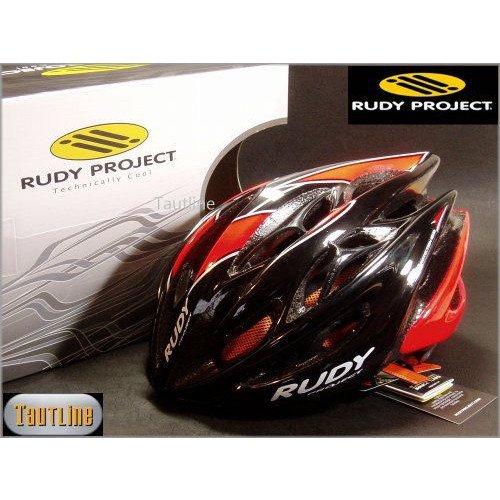 ルディプロジェクト Rudy Project Sterling Mサイズ 54~58 ブラックxオレンジ ヘルメット