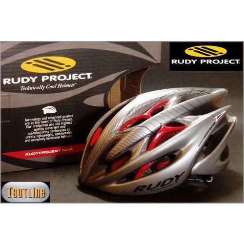 ルディプロジェクト Rudy Project Sterling Mサイズ 54~58 チタンxレッド ヘルメット
