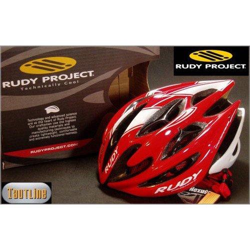 ルディプロジェクト Rudy Project Sterling Mサイズ 54~58 レッドxホワイト ヘルメット