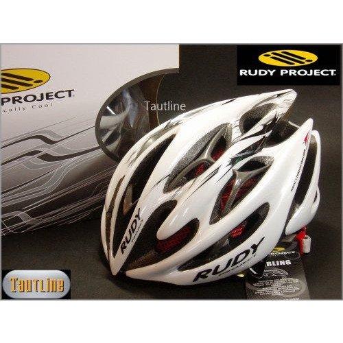 ルディプロジェクト Rudy Project Sterling Mサイズ 54~58 ホワイトxブラック ヘルメット