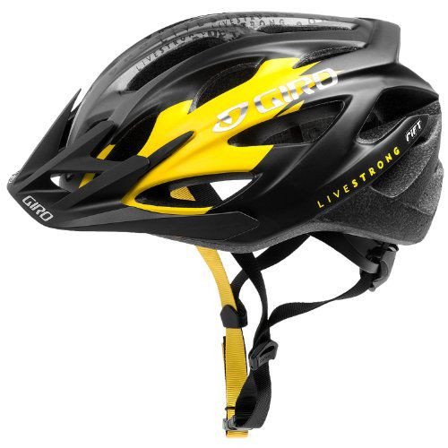 GIRO(ジロ) Rift Livestrong Helmet リフト サイクリング ヘルメット Matte Black/Yellow Livestrong