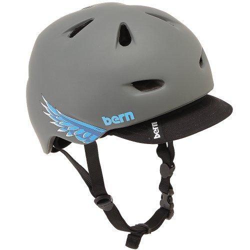 Bern バーン Brentwood ブレントウッド ヘルメット サイクリング 自転車 Matte Grey Cyclehawk VM3MGSV S
