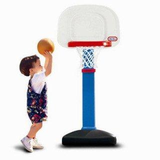 ミニ子供用バスケットゴール リトルタイクス(little tikes)社製 ボール付バスケットゴール