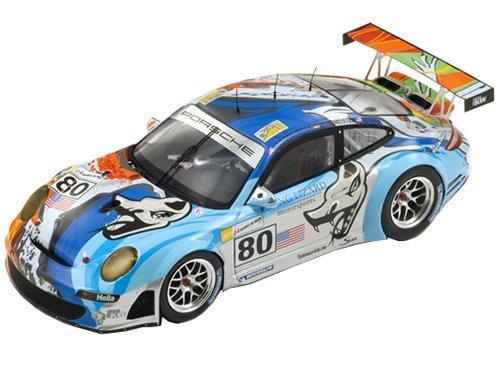 """おもちゃ Porsche 997 GT3 RSR """"Flying Lizard"""" #80 Le Mans 2007 Johannes Van Overbeek / Seth Nei"""
