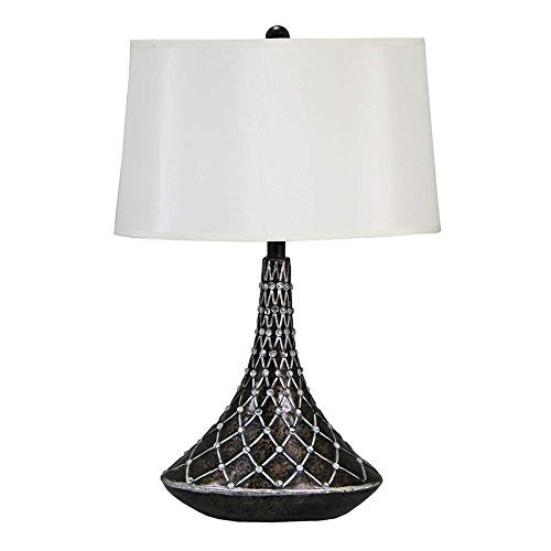 Design Toscano Brompton Gate Contemporary Table Lamp (Set of 2), 18 x 11 x 27'