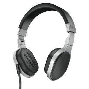 KEF M500 Hi-Fi On-Ear Headphones - Aluminum/Black ヘッドホン(イヤホン)