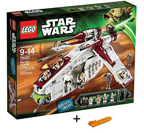 LEGOレゴ スター・ウォーズ リパブリック・ガンシップ 75021