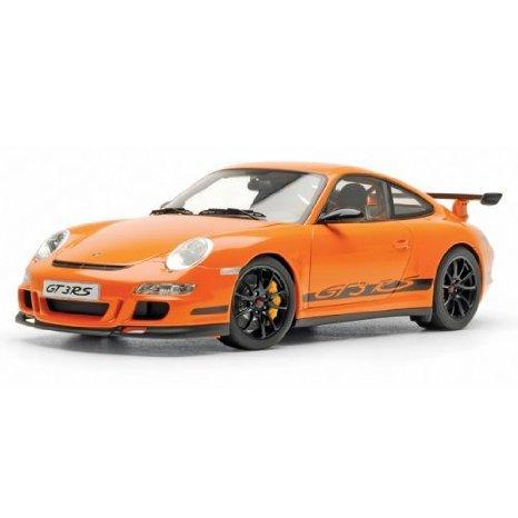Porsche (ポルシェ) 911 997 GT3 RS Orange 1:12 Autoart (オートアート) ダイキャスト ミニカー ダイキ