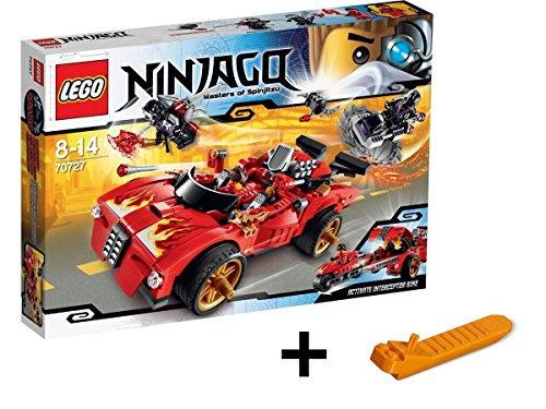 レゴ ニンジャゴー X-1 ニンジャ・チャージャー 70727 + レゴ 630 ブロックはずし(プレゼントし)