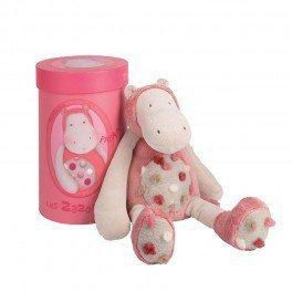 "Moulin Roty Les Zazous Hippo Plush 13"" Toy"
