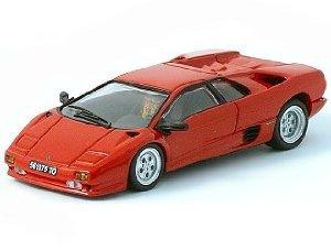 1/43 Lamborghini (ランボルギーニ) Diablo Red ミニカー ダイキャスト 車 自動車 ミニチュア 模型