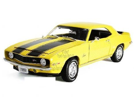 Phoenix Unique Replicas - Chevy (シボレー) Camaro (カマロ) (カマロ) Z28 Hard Top (1969, 1:24, Yello