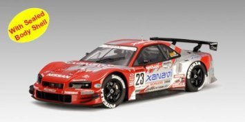 Nissan (日産) 2003 Skyline GTR R34 JGTC Round 8 Suzuka Version Xanavi #23 (Part: 80377) Autoart (オ