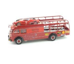 "Ferrari (フェラーリ) Transporter Set - Fiat 642RN トラック& Ferrari (フェラーリ) 156 ""Muletto"" T …"