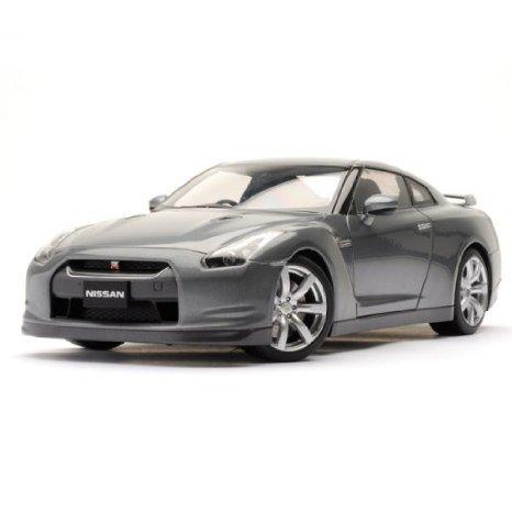 Nissan (日産) GT-R R35 Gray 1:18 Autoart (オートアート) ダイキャスト モデルカー ミニカー ダイキャス