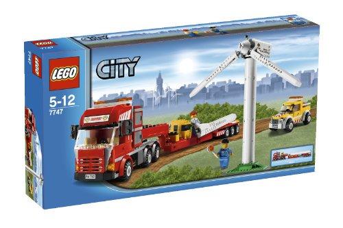 LEGO 7747 CITY Wind Turbine Transport(レゴ 風力発電タービンと輸送トラック)