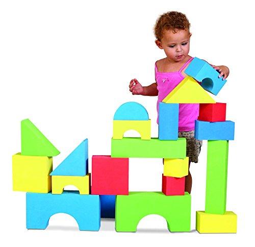 欠品中/ 【EduShape】大型 ジャイアント カラー ブロック 32個セット EduShape 遊具 保育園 児童館 726033