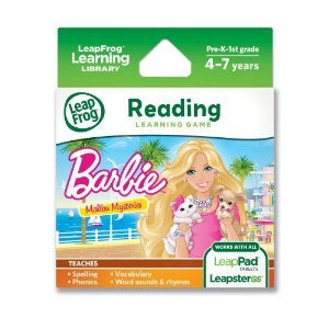 LeapFrog Learning Game: Barbie (バービー) (バービー) Malibu Mysteries (for LeapPad Tablets and Leap