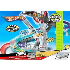 Hot Wheels (ホットウィール) KidPicks Zero G Drop Force Track Set ミニカー ミニチュア 模型 プレイセ