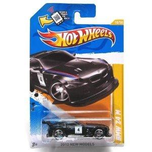 Hot Wheels (ホットウィール) 2012, BMW Z4 M (BLACK), 2012 new models, 18/247. 1:64 スケール. ミニカ