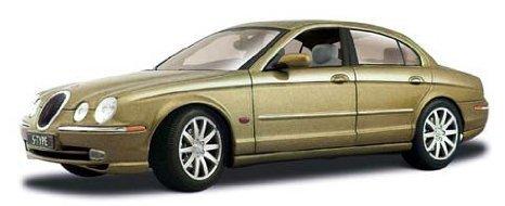 1999 Jaguar (ジャガー) S Type Gold 1:18 ダイキャスト モデルカー ミニカー ダイキャスト 車 自動車 ミ