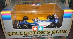 1/20 スケール Tamiya (タミヤ) ダイキャスト Collector's Club Williams FW14B Renault (ルノー) Nigel M