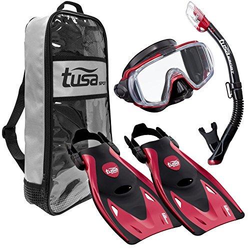 TUSA Sport Visio Tri-Ex Mask Series Travel Swimming Set