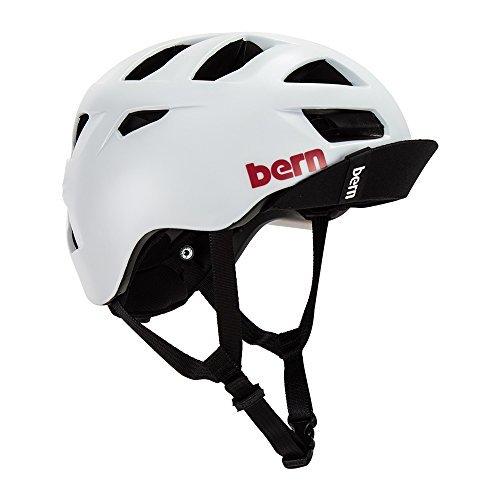 バーン ヘルメット オールストン 白 サテンホワイト L-XLサイズ BM06ZSWHT オールシーズン 自転車 BERN