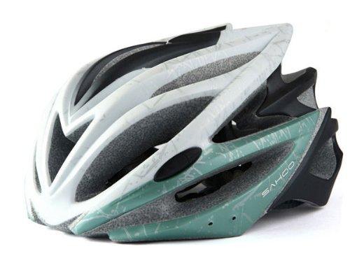 (ジーハウス)G-HOUSE 【SAHOO】 ロードバイク ヘルメット 正規 RBH-002 (緑)