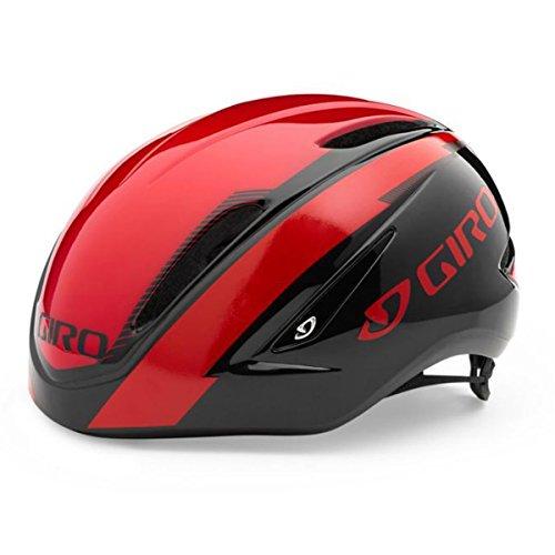 GIRO(ジロ) Air Attack Helmet エアアタック サイクリング ヘルメット (Red/Black, L (59-63cm))