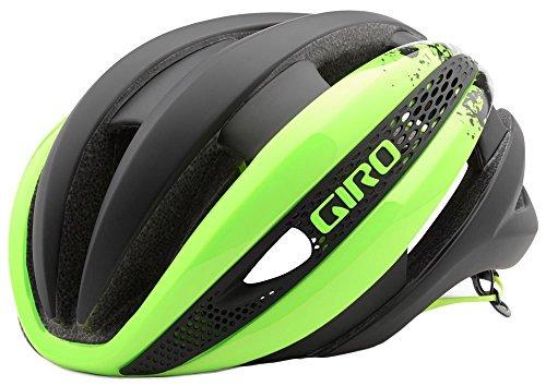 GIRO(ジロ) Synthe Helmet シンセ サイクリング ヘルメット (Highlight Yellow/Matte Black, L (59-63cm))
