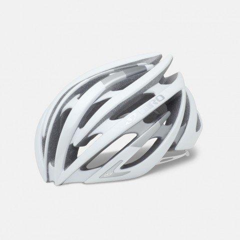 GIRO(ジロ)AEON イーオン サイクリング ヘルメット (マットホワイト/シルバー, M)