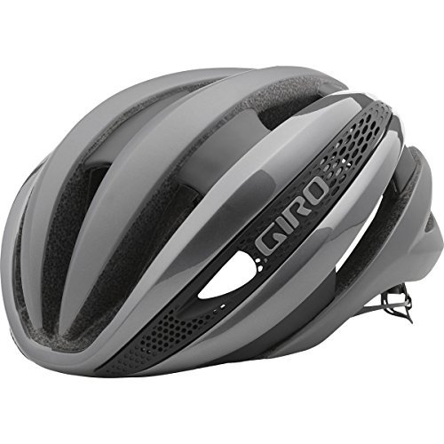 (ジロ) GIRO SYNTHE MIPS HELMET FASTER IS COOLER サイクルヘルメット Cycle Helmet Silver  GooodLux (M