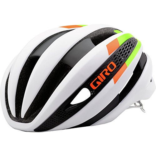 (ジロ) GIRO SYNTHE MIPS HELMET FASTER IS COOLER サイクルヘルメット Cycle Helmet White Lime Flame  G