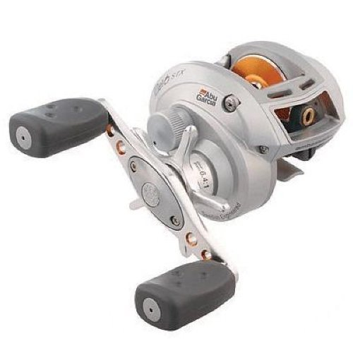 Abu Garcia REVO STX Series Reel, 12-Pound/140-Yard Capacity, 6:4:1 Gear Ratio, Left-Hand
