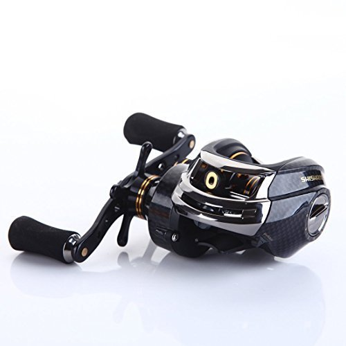 SHISHAMO Korean Technology LB200 Baitcasting Reel 18 Ball Bearings Carp Fishing Gear Left Right Han