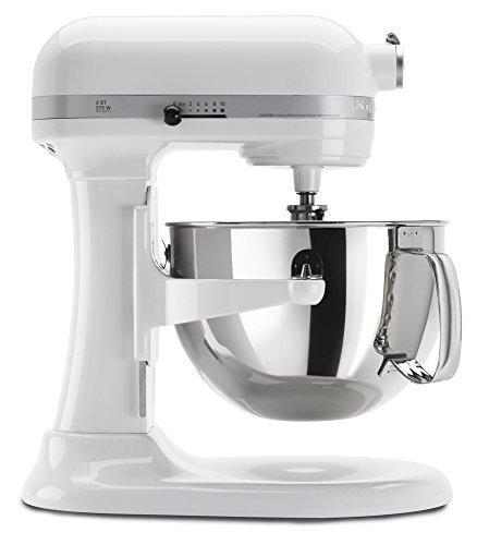 キッチンエイド(KitchenAid) KP26M1XWH Professional 600 Series 6-Quart Stand Mixer, White