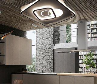 超薄LEDライン型シーリングライト JYC001 LED (天井照明 インテリア照明 間接照明 ペンダントライト 北欧)