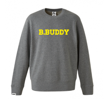 SW16-001 B.BUDDY SWEAT HEATHER GRAY