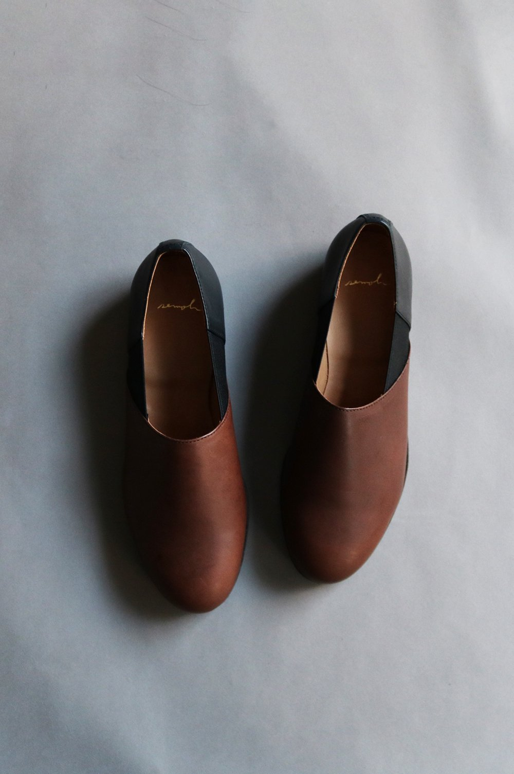 Leather Slip on