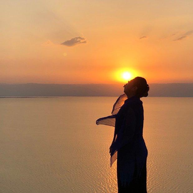 ヨルダンの死海