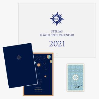 【予約販売】Stella's ダイアリー・カレンダーセット 2021《直筆サイン入りタロット付き》