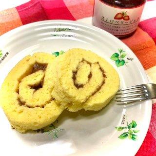 【切り落し・1回限定2セットまで】おこめの苺ロールケーキ2個セット (冷凍)【クール便(冷凍)】