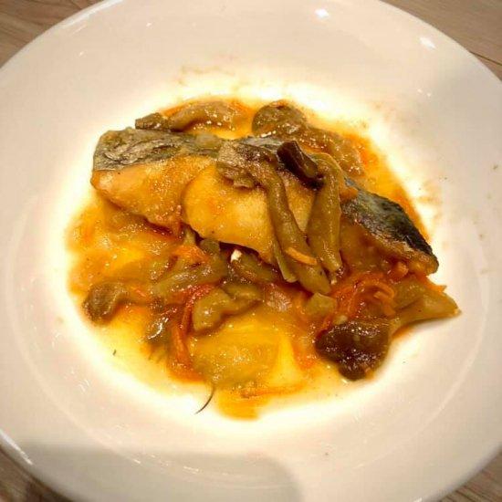 レトルト惣菜 白身魚のカレーあんかけ 【常温便】